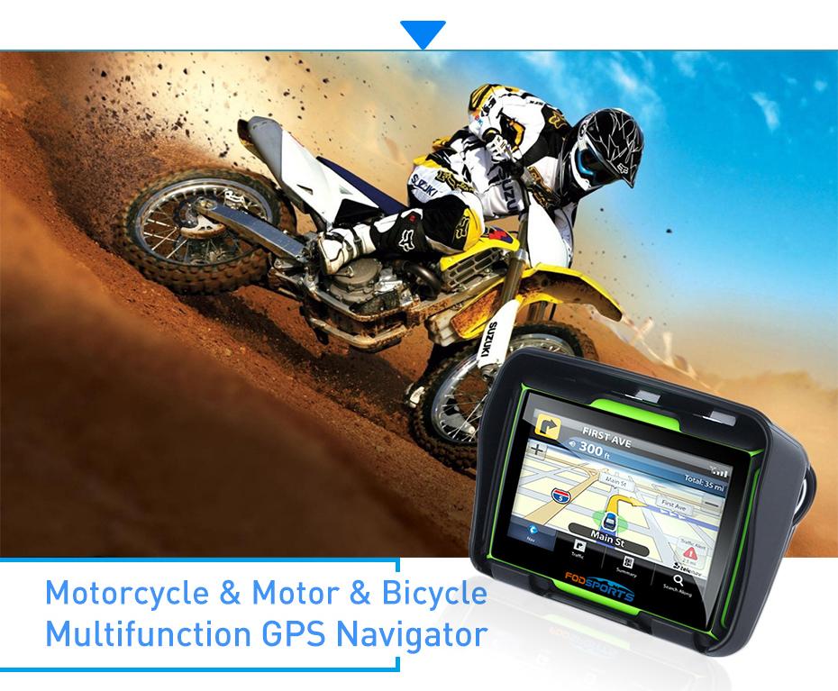 motorcycle motorbike GPS navigator