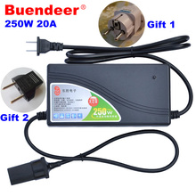 Buendeer 250W Top Power converter ac 12v adapter 110/220v AC to DC 12V 20A car Charger Socket power cigarette lighter adapter(China)