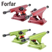Forfar 2 colors available plate bracket skateboarding roller wave board hollow casting anchor truck