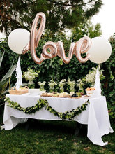 Love 108*65cm Champagne Script Foil Balloon Birthday Balloon Love Balloon bachelorette Party Decor Bridal Shower Wedding Decor