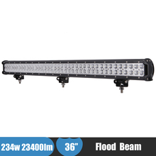 234w 23400LM Offroad LED Work Light Bar 36 Inch 4x4 4WD ATV Suv Pickup Wagon Car Driving Fog Light for Toyota Land Cruiser Prado