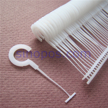 "[STANDARD] Garment Tag Pins Hook-ups 1-1/2"", clothes price label J hook pin, tagging tag gun J-hook fastener cap sock scarf toy(China)"