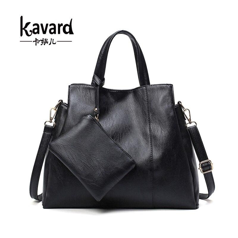 KAVARD purses and handbags 2017 Luxury Women Composite Bag Designer Handbag Bolsos Ladies Sac a Main Casual Tote Shoulder Bag<br><br>Aliexpress