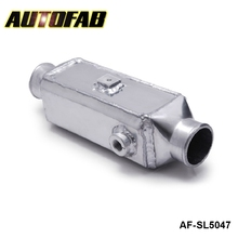 "AUTOFAB-High Performance Aluminum 13.75""x4.75""X4"" Bar & Plate Front Mount Water-To-Air Turbo Intercooler AF-SL5047"