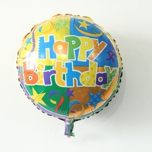 Free shipping Happy birthday Balloons Baby Shower Foil Balloon Party Birthday Decorations children gift helyum balonu supplies