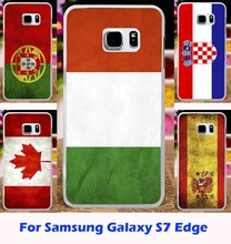 Retro National Flag Phone Cases For Samsung Galaxy S7 Edge Case Cover For Samsung S7 Edge G935A G935F G9350 Shell Coque Fundas
