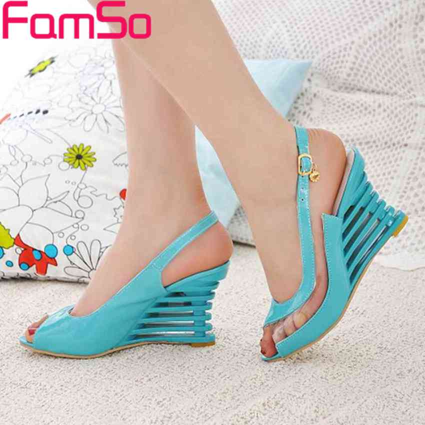 Free shipping 2017 New Sexy Ladies High heels Sandals Wedges Pumps office transparent sandals Summer Female Pumps sandals PS1240<br><br>Aliexpress