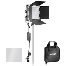 Neewer Professional Metal Bi-color LED Video Light for Studio YouTube Product Photography Video Shooting Durable Metal Frame(China)