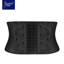 Shaper diva Women body shaper Waist Trainer Plus Size shapewear Slimming Short hot shapers latex Waist Cincher Waist Shaper(China)