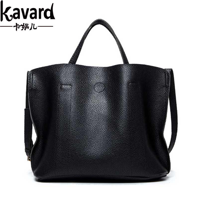 Kavard Luxury Handbags Women Bags Designer Leather Large capacity Bucket Shoulder Bag Women Messenger Bags bolsas sac a main<br><br>Aliexpress