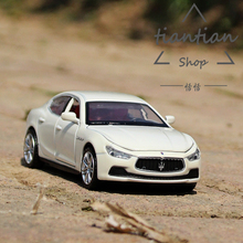 CAIPO 1:32 kids toys simulation Martha Lahti Ki Bbu Ley Sports car Die-cast metal Alloy Sports car model Decoration
