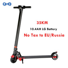 FLJ Electric Scooter Easy folding E-Scooter Bike electric bicycle scooter ebike I6 with LG 10.4AH Battery for Adult & Children