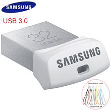 SAMSUNG USB Flash Drive USB 3.0 32GB Pendrive Metal Mini Memory Vehicle cle usb Stick 3.0 memoria disk 32gb For Car Flash U Disk(China)