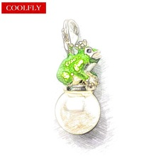Frog Prince And Pearl Charms Pendant Thomas Style DIY Fashion Jewelry Accessories Club Fit Bracelets & Bag Ts Gifts Breloque