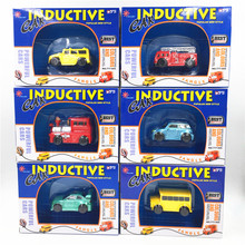 1 Piece Fangle Magic Toy Truck Inductive Car Giochi Di Prestigio Trucos Magia Excavator Tank Construction Cars(China)