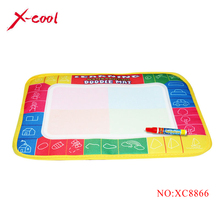 29X19cm 4 color Mini Water Drawing  Mat Aquadoodle Mat&1 Magic Pen / Water Drawing board / baby play mat Free shipping