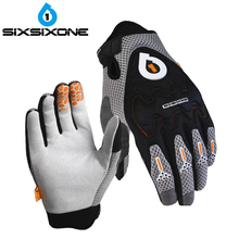 661 SIXSIXONE D3O over knuckles Gloves EVO MTB Racing motocross gloves Downhill Dirt Mountain Bike Bicycle Cycling glove M L XL