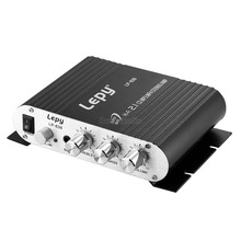 Music Hall Mini 12V Bass HiFi 2.1 Channel Stereo Power Amplifier Radio MP3 for Car Home Bus Amp(China)