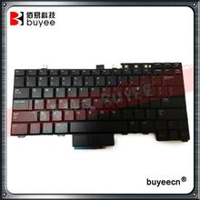 Laptop Black US Keyboard For DELL E6520 E6530 E6540 E5520 E5520M E5530 English keyboard With Backlit Backlight Point Tested