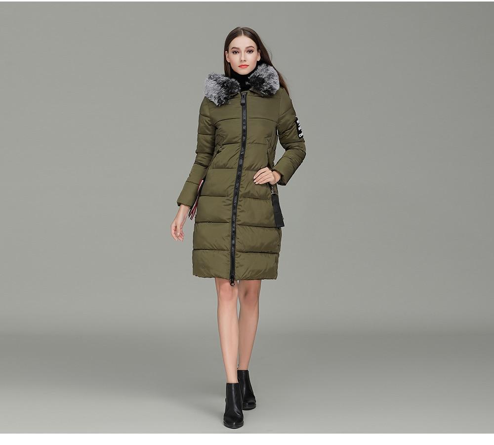 FATIKA 2017 Winter Jacket Women Cotton Jacket Plus Size 3XL Winter Coat Women Thicken Warm Parka Female Hooded Outwear