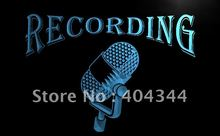 LB206- Recording On The Air Radio Studio NEW Light Sign     home decor shop crafts