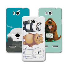 New Style! Bear Carton coque For Huawei Honor 2 U9508 U8950D Case cover Ascend G600 Colorful Back Cover For Huawei U9508 Case
