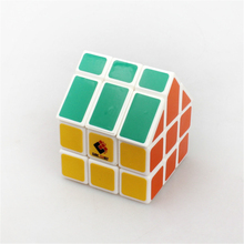 TiSe Cubetwist House Cube Third-order Magic Speed Cube Educational Brinquedos Green Roof Puzzle Cube Kids Gifts Toy Figures