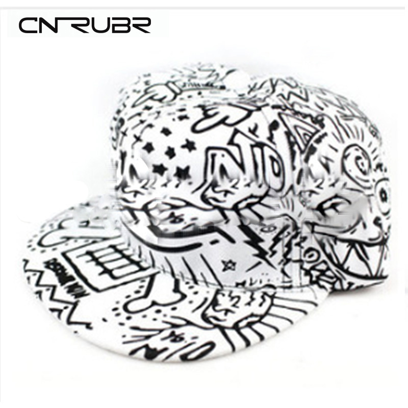 New Products fashion unisex Plain Baseball Caps,Graffiti Caps Hip-hop Cotton Peaked hat, casual outdoor travel snapback sunhat<br><br>Aliexpress