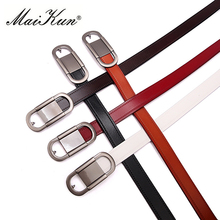 Fashion Designer Fitness Belts for Women Belts Dress Accessories Cowskin Leather Lady Belt Vintage cinturones mujer(China)