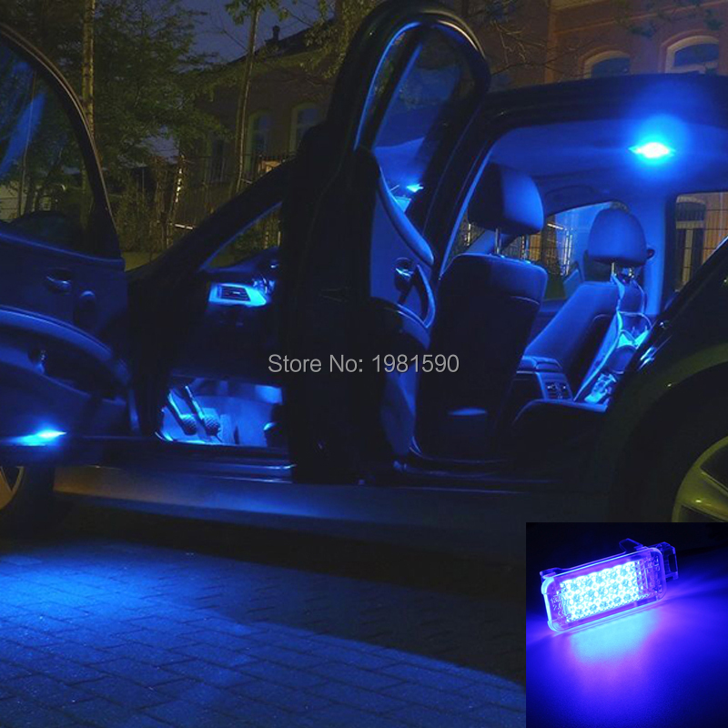 VW footwell courtesy step truck light LED red blue white (3)