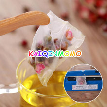 1000pcs/lot Nylon Tea Bag Heat Sealable Pyramid Tea Filters semi-transparent Empty Teabags 5.8*7cm 6.4*8cm(China)