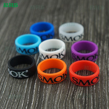 Buy 2017 New silicone SMOK logo vape band Mod vape band rings customized 21*10mm size 200pcs free for $63.99 in AliExpress store