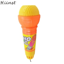 HIINST Modern 2017 New Echo Microphone Mic Voice Changer Toy Gift Birthday Present Party Song Toy For Kids Drop Shipping Feb2