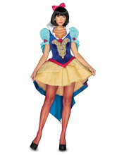 2015 NEW Snow White cosplay,women sexy halloween costumes,ladies party dress  free shipping