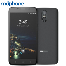 UHANS A6 3G Smartphone 5.5inch 1280*720pixel MTK6580 Quad-core Android 7.0 2GB RAM +16GB ROM 8.0MP Camera 4150mAh Mobile Phone - Mophone Tech Store store