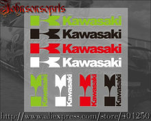 1 PCS Kawasaki Fsport MUGEN TRD NISMO Sticker Set waterproof sunscreen stickers free stickers car-styling