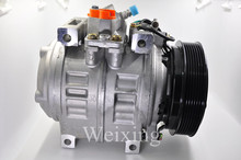 Auto air conditioner compressor for Toyota Coaster Bus PV7 88320-36560 88320-02500 8832002500 88310-1A730 447190-8200