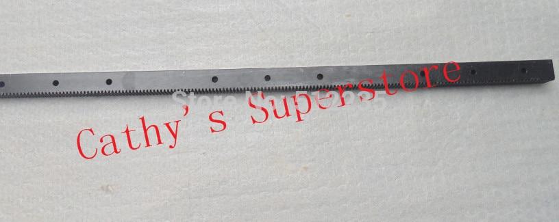 6pcs/lot 1.25 mod 22*25*671 mm Gear rack High Precision engraving machine rack (straight teeth) cnc router rack<br>
