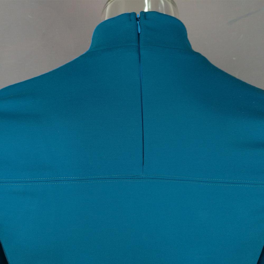 Cosplay Star Trek Custume Beyond Blue Captain Kirk Uniform Spock Blue Uniform Badge Scotty Red Halloween Party Prop (6)