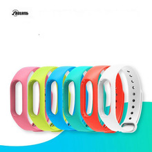 Silicone Wrist Strap Bracelet Double Color Replacement wristband for Original Miband 2 Xiaomi Mi band 2 Wristbands