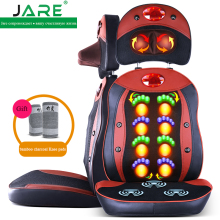 Jare multifunctional cervical vertebra massager pillow open back massage machine Thai massage cushion