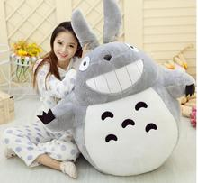 Hot Sale 60CM Famous Cartoon Totoro Plush Toys Smiling Soft Stuffed Kids Toy High Quality Dolls Factory Price In Stock