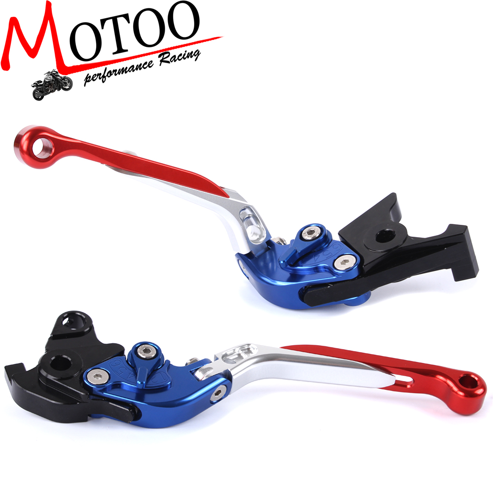 Motoo - F-18 H-33 Adjustable CNC 3D Extendable Folding Brake Clutch Levers For HONDA CBF1000 2010-2013 CB 1300  ABS 2003-2010<br><br>Aliexpress