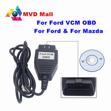 Best Quality For Ford VCM OBD OBD2 Diagnostic Scanner Works For Ford/ For Mazda For Ford-VCM Auto Diagnostic USB Cable Hot Sale