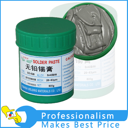 HOT Sale! SD-528 low temperature SMT Lead-free SMT Solder Paste 500g Sn42Bi58<br>