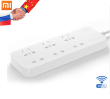Xiaomi Mijia Smart Socket 6 Ports Timing Switch Remote Control By Mobile Phone App Wifi Xiaomi Power Strip With Adapter