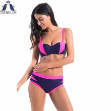 bikini Swimwear swimsuit Women Bikini Set Push brazilian Swimsuit Lady Bathing suit female Ladies swimming - TOPMELON Official Store store