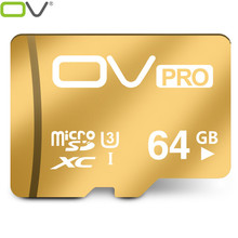 OV micro sd PRO Extreme U3 new version 90MB/s card 16GB/32GB/64GB TF memory cards card best choice for 4K video for Smartphone