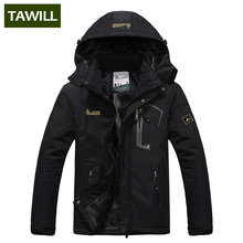 TAWILL Brand thermal Warm Winter Jacket Men Coat outwear Waterproof Windproof Hood 816