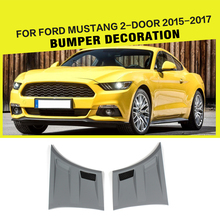 PP Unpainted Grey Primer Fender Flares Side Door Fender for Ford Mustang 2015-2017(China)